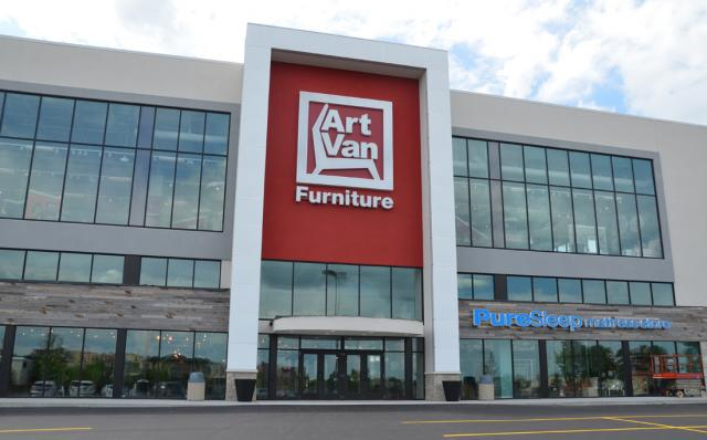 Art Van Furniture Store Opening Home Fashion Forecast