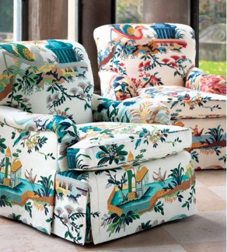 Le Jardin Chinois Brunschwig: Patterns Prints Repeat