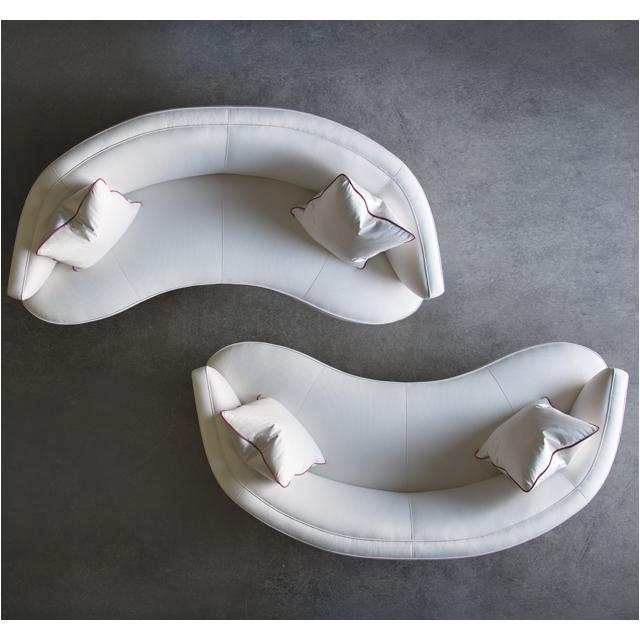 Curved Sofa Awesome Home Decorating Trends U Homedit With