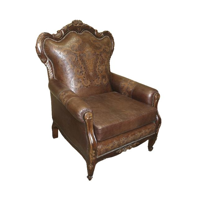 New World Trading leather chair