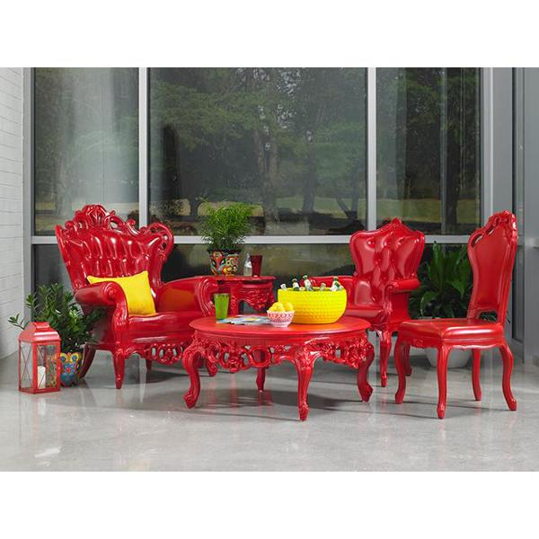 POLaRT red plastic furniture