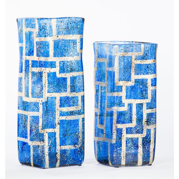 Prima Design Source blue vases